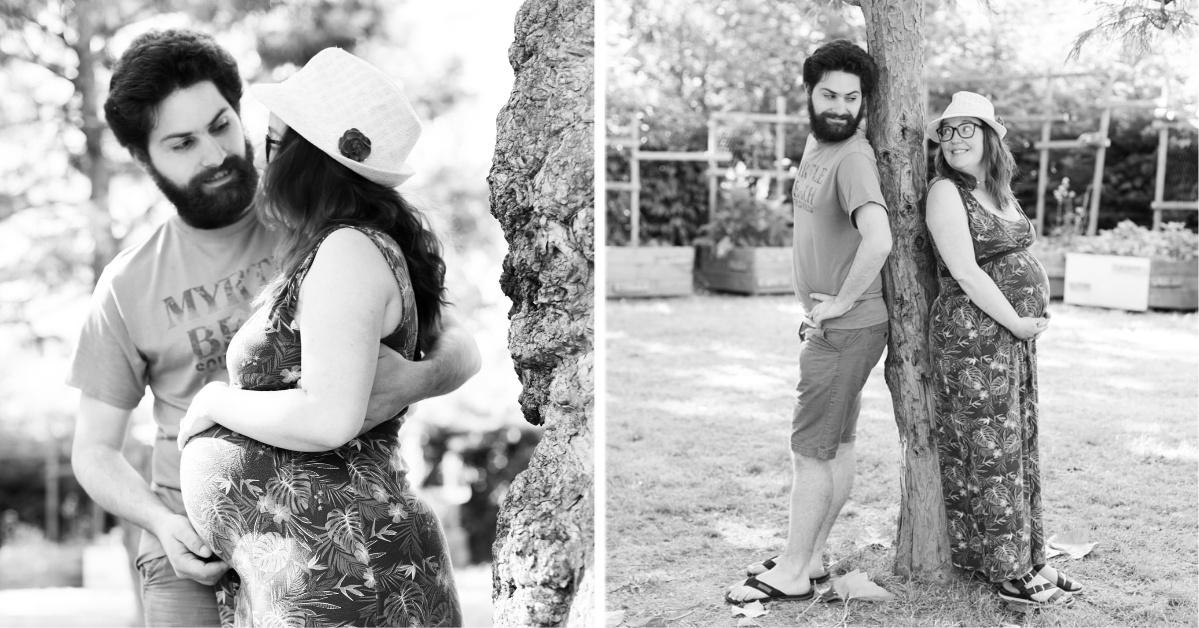 diptyque couple noir et blanc