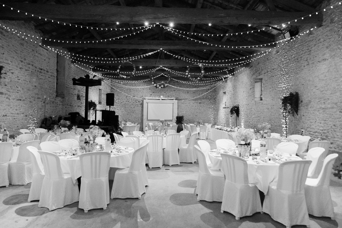 Mariage Lyon décoration salle