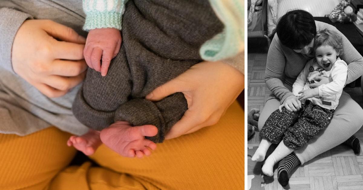 Photo naissance Lyon des pieds et mains