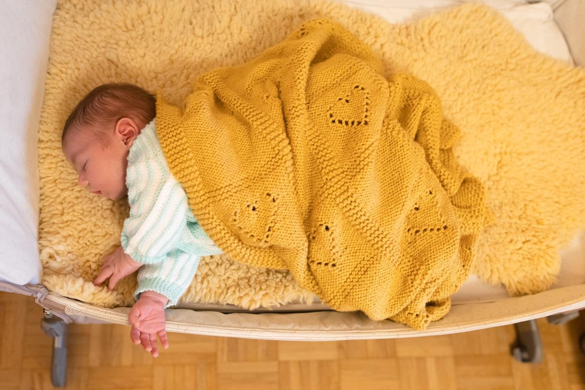 Photo naissance Lyon joli bébé