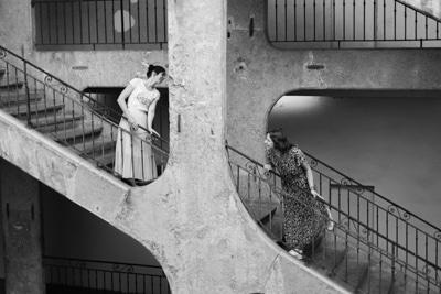 Course sur le pont