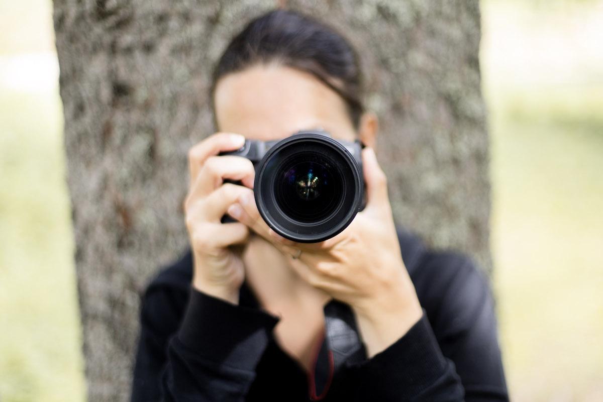 Photographe en action